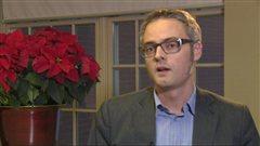 Le directeur général de l'Association pour le commerce de produits biologiques, Matthew Holmes, en entrevue.