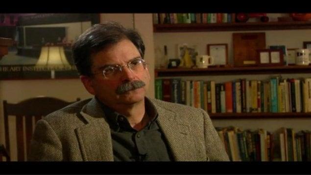 Mark Kastel, un analyste de l'institut Cornucopia au Wisconsin, accorde une entrevue à Radio-Canada.