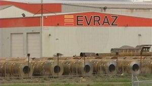 L'usine Evraz à Regina