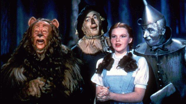 Le film Le magicien d'Oz