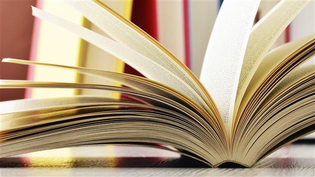 Les pages d'un livre ouvert.