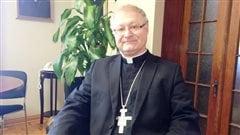 L'évêque de Bathurst, Daniel Jodoin