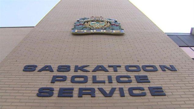 Le siège de la police à Saskatoon