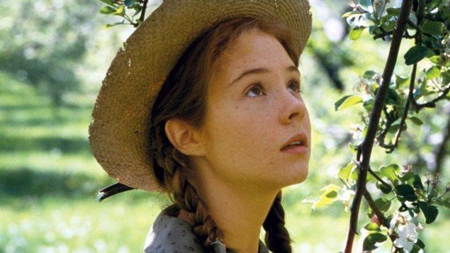 Une scène tirée du téléfilm «Anne, la maison aux pignons verts», avec Megan Follows dans le rôle d'Anne Shirley (1985)