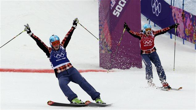 Victoire des Canadiennes en ski cross