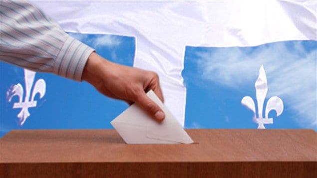 Une urne et un bulletin de votes