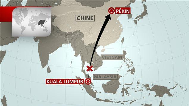 Un avion de Malaysia Airlines transportant 239 personnes a disparu en plein vol le samedi 8 mars 2014 entre Kuala Lumpur et Pékin.
