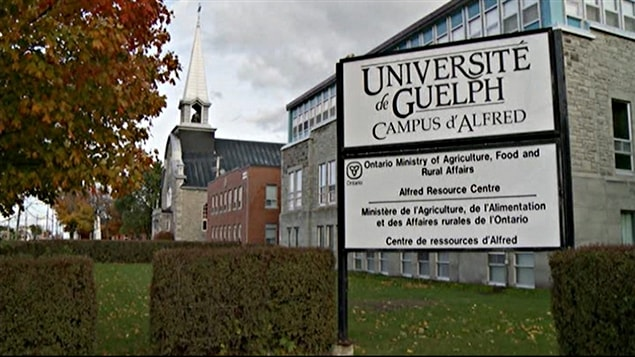 Le Campus d'Alfred de l'Université de Guelph (archives).