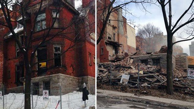 La maison Redpath a été démolie le 19 mars 2014.