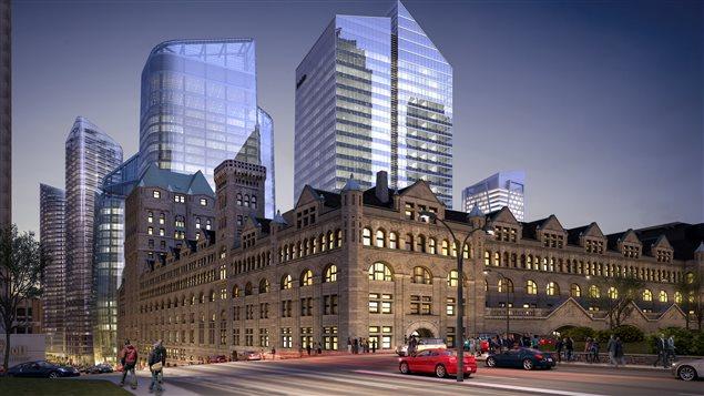 Immobilier 3 milliards pour le centre ville de montr al for Chambre de commerce de montreal nord