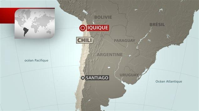 Alerte au tsunami au Chili