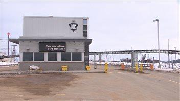 Installations de la minière IOC à Sept-Îles