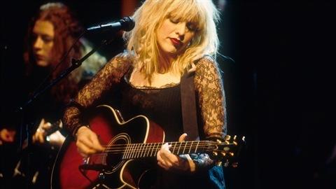 Courtney Love en 1995.