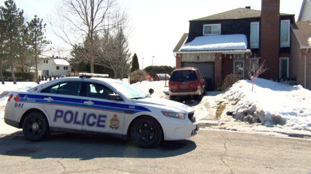 Christopher Hoare a été arrêté à sa résidence du secteur d'Orléans