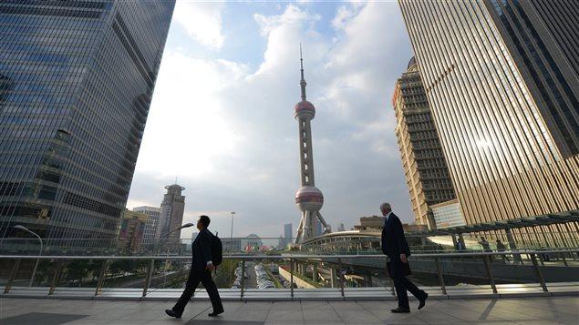 Centre-ville de Shanghai