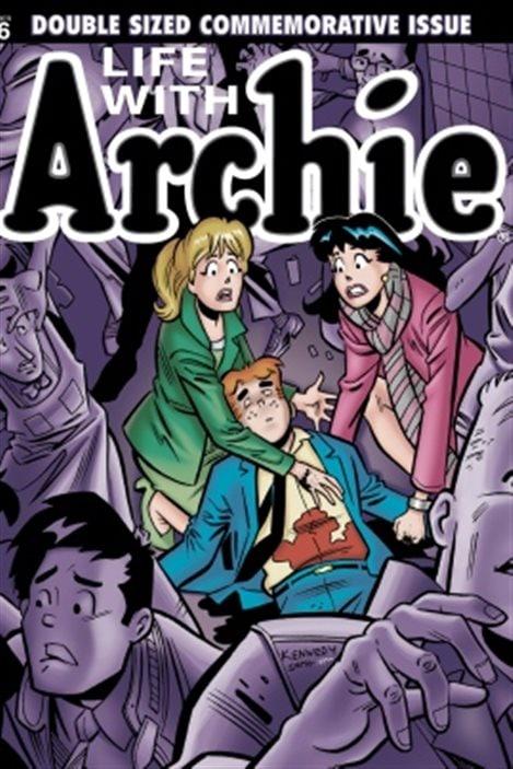 La couverture du numéro 36 de Life with Archie