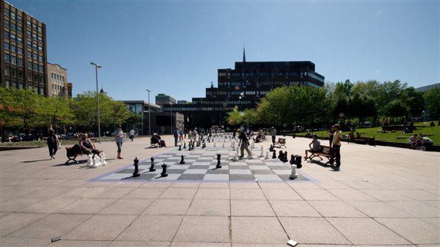 Parc Émilie-Gamelin, Montréal