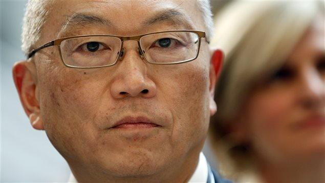 Le Dr Keiji Fukuda, sous-directeur général de l'OMS pour la sécurité sanitaire (archives)
