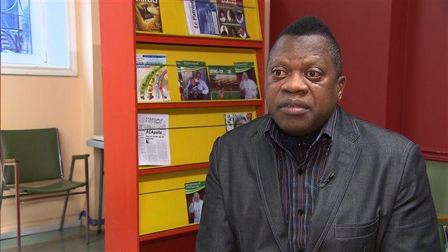 Le président de la Communauté congolaise de Montréal Jean Marie Mousenga
