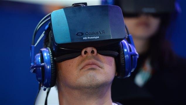 Des lunettes de réalité virtuelle Oculus