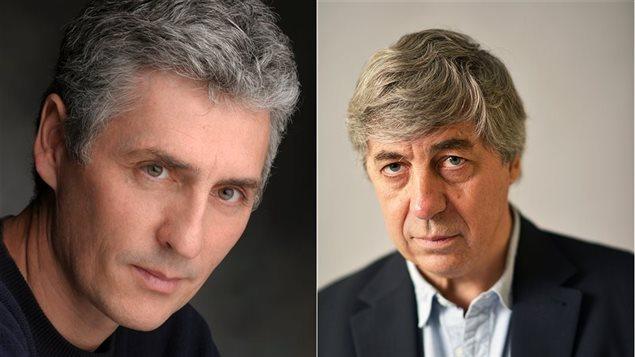 Les auteurs Larry Tremblay et Sorj Chalandon