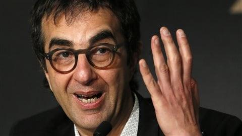 Le réalisateur Atom Egoyan, en conférence de presse au Festival de Cannes - 16 mai 2014