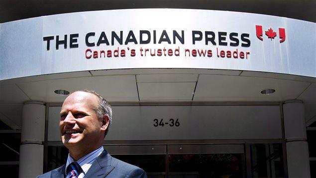 Malcolm Kirk, le président de la Presse Canadienne