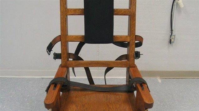 le tennessee r instaure la chaise lectrique ici radio. Black Bedroom Furniture Sets. Home Design Ideas