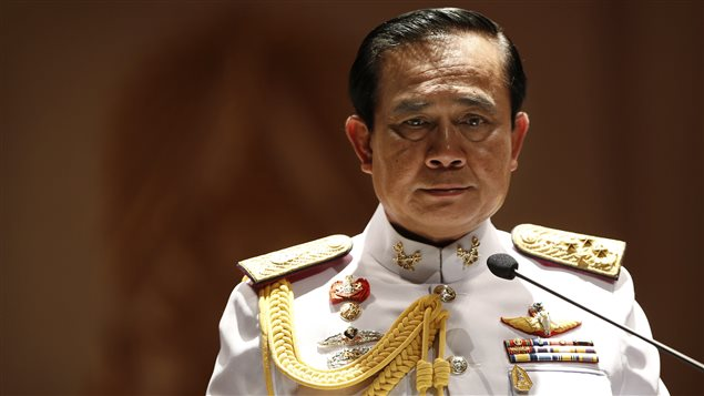 L'instigateur du coup d'État en Thaïlande, le général Prayuth Chan-ocha