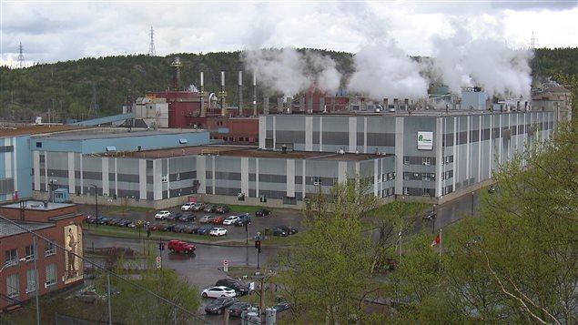 L'usine de Produits Forestiers Résolu à Baie-Comeau