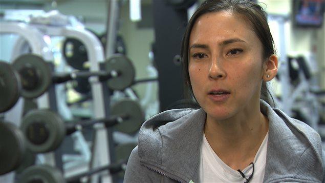 Naomi Ban, kinésiologue atteinte de spondylarthrite ankylosante