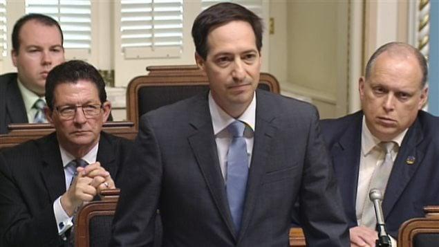 Stéphane Bédard, chef par intérim du Parti québécois