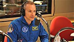 David Saint-Jacques dans l'espace