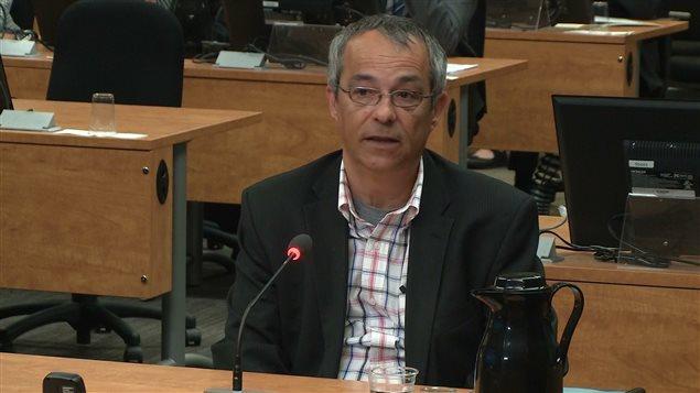 Bruno Lortie, ex-chef de cabinet de Nathalie Normandeau
