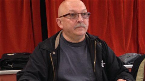 Gary White, représentant du syndicat des Métallos pour le nord-est du Nouveau-Brunswick