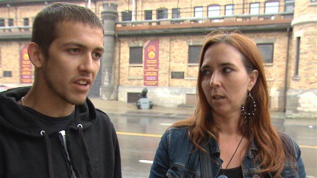 Carl Cadieux et Nadia Lessard racontent leur arrestation.