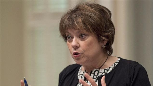 La ministre de la Culture et ministre responsable de la Protection et de la Promotion de la langue française, Hélène David.