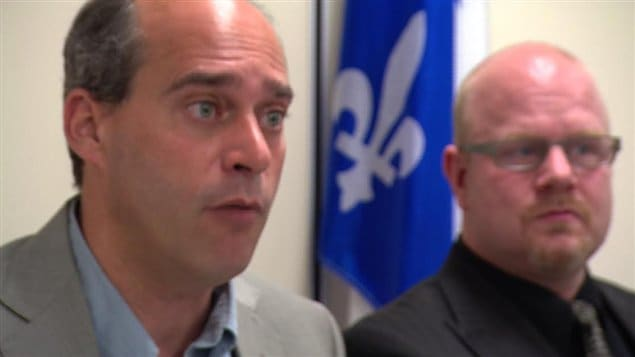 Les députés Guy Caron et François Lapointe