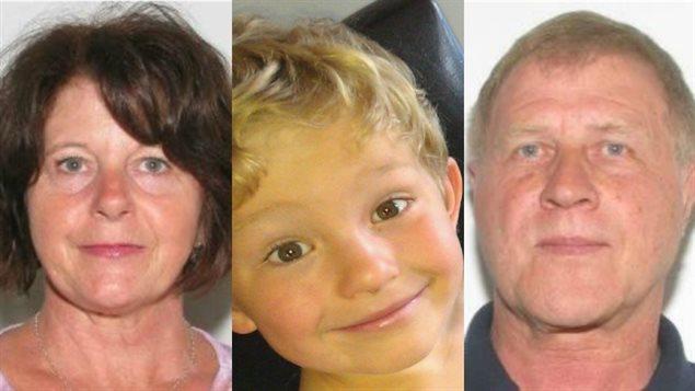 Kathryn Liknes, Nathan O'Brien et Alvin Liknes sont portés disparus.