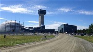 La mine Goldex d'Agnico Eagle