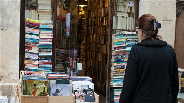 La librairie Abbey Bookshop à Paris