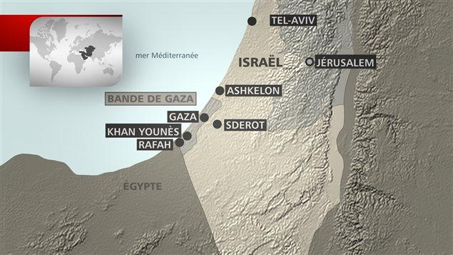 Les attaques sur le territoire de la bande de Gaza ont fait des dizaines de morts.