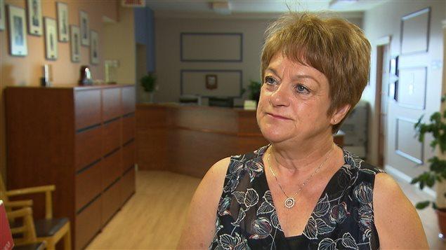 La mairesse de Port-Cartier, Violaine Doyle