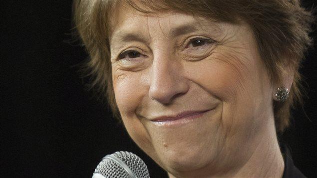 Françoise David, le 27 mars 2014