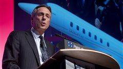 Le président et chef de l'exploitation de Bombardier Aéronautique, Guy Hachey, à Montréal (archives)
