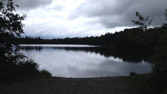 Le débarcadère de bateaux du Lac Fortune