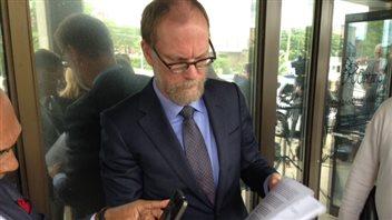 L'avocat de Michael Sona, Norm Boxall