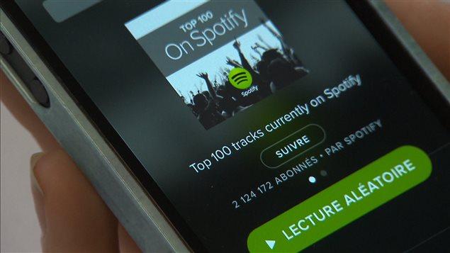 Le géant Spotify arrive au Canada