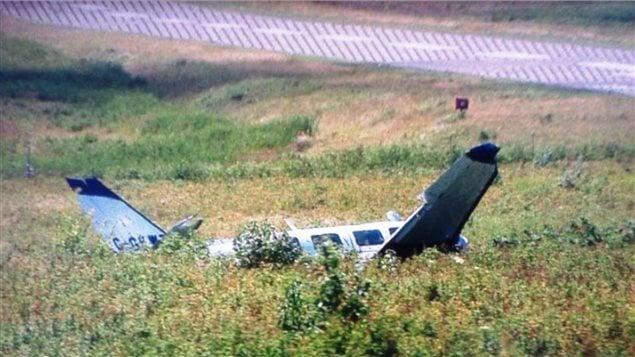 Écrasement d'une ambulance aérienne à Grand Manan