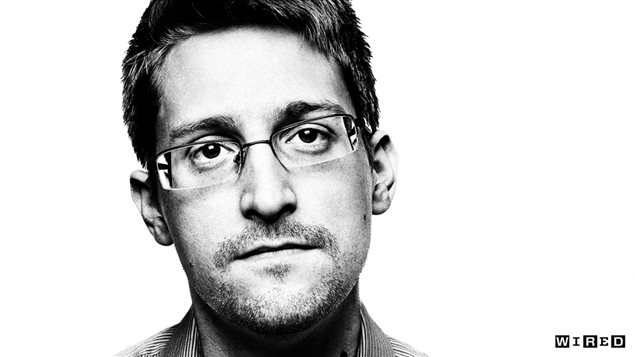 Edward Snowden, photo tirée du reportage «The most wanted man in the world », du magazine Wired, septembre 2014.